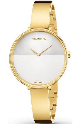 CALVIN KLEIN Rise Gold Stainless Steel Bracelet