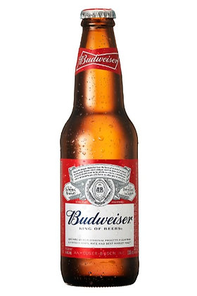 Budweiser 355ml Bottles in a 6 Pack