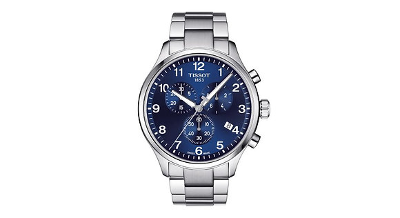 TISSOT CHRONO XL CLASSIC MEN'S WATCH Blue Dial