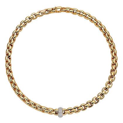 FOPE Eka Anniversario necklace with diamond PAVE