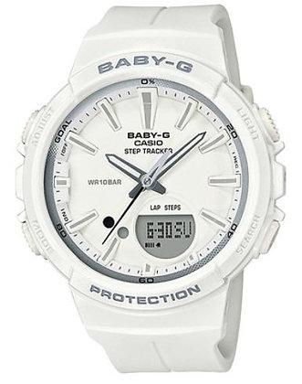 CASIO BABY-G STEP TRACKER WHITE