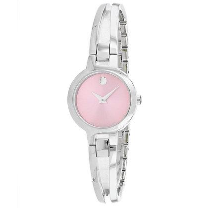 MOVADO Women's Amorosa Pink Dial