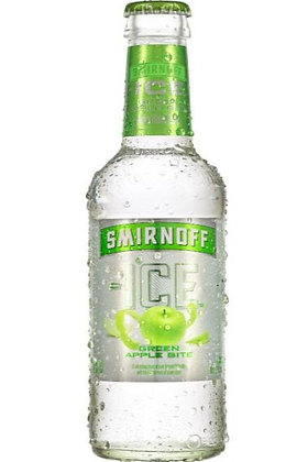 Smirnoff Ice Green Apple 300ml Bottles in a 6 Pack