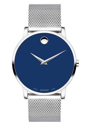 MOVADO Museum Classic Analog Blue Dial Men's Watch