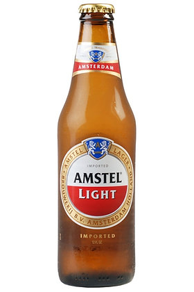Amstel Light 355ml Bottles in a 6 Pack