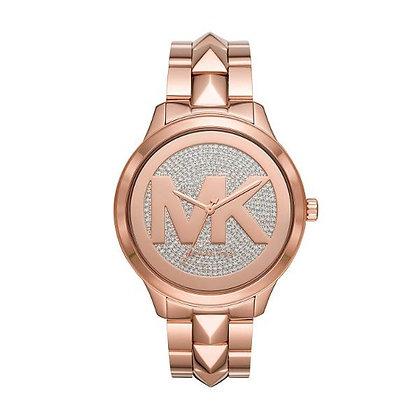 MICHAEL KORS  Runway Mercer Rose Gold-Tone Women's Watch