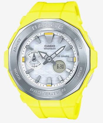 CASIO BABY-G Beach Glamping Series Yellow/Steel