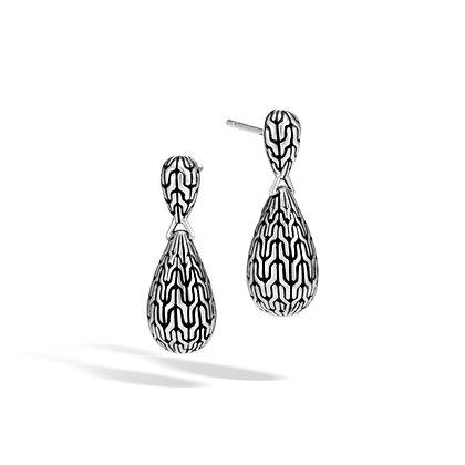 JOHN HARDY Classic Chain Silver Earrings
