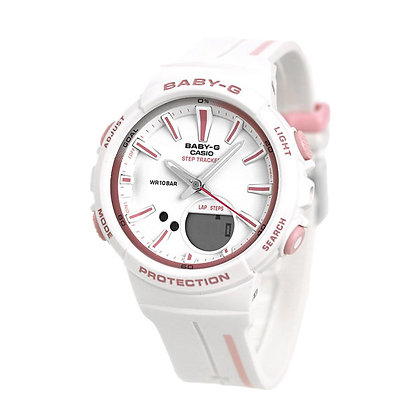CASIO BABY G RUNNING SERIES WHITE