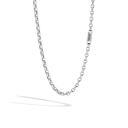JOHN HARDY Men'S Classic Chain Silver 5.6mm Link Necklace Sz 22