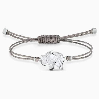 SWAROVSKI  Power Collection Elephant Bracelet, Gray, Stainless steel