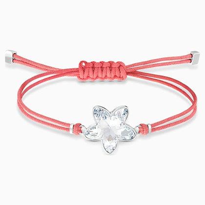 SWAROVSKI  Power Collection Flower Bracelet, Red, Stainless steel