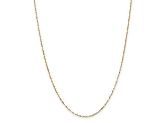 QG 14k 1.55mm Rolo Pendant Chain