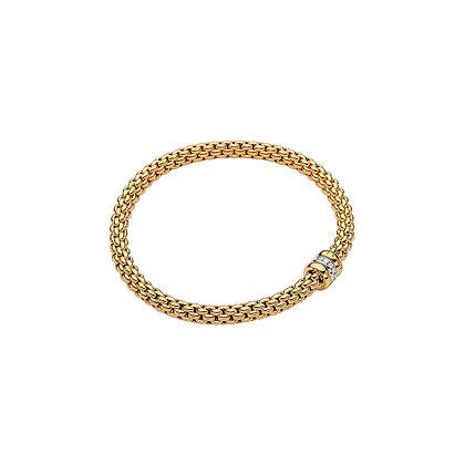 FOPE Solo Flex'it bracelet with diamonds