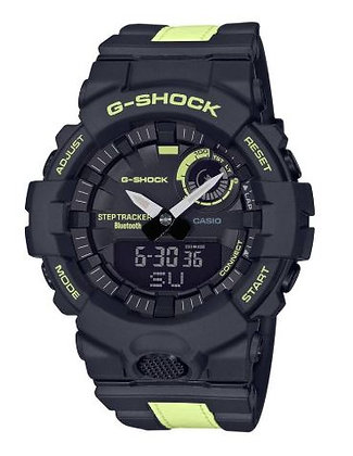 CASIO G-SHOCK G-SQUAD BLACK AND YELLOW