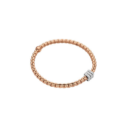 FOPE Eka Tiny Flex'it bracelet with diamond