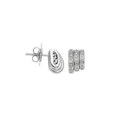 FOPE Prima diamond PAVE earrings