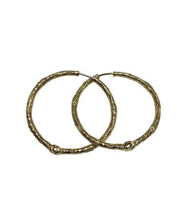 Konstantino Hoop Earrings 18kt Yellow Gold