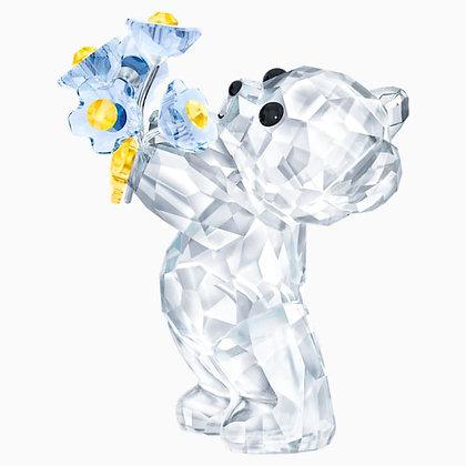 SWAROVSKI Kris Bear - Forget-me-not
