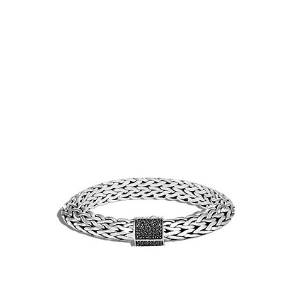JOHN HARDY Tiga Chain Bracelet, Black Sapphire and Spinel M 11mm