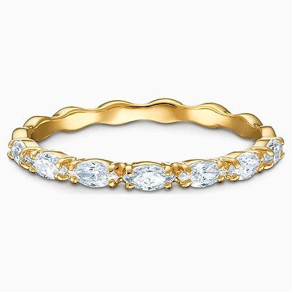 SWAROVSKI  Vittore Marquise Ring, White, Gold-tone plated, Size 5,6,7,8,9.