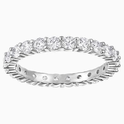 SWAROVSKI Vittore XL Ring, White, Rhodium plated 4,5,6,7 and 8