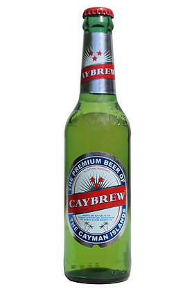 Caybrew Lager 330ml Bottles in a 24 Case
