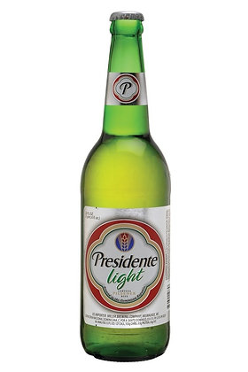 Presidente Light Beer 355ml Bottles in a 24 Pack