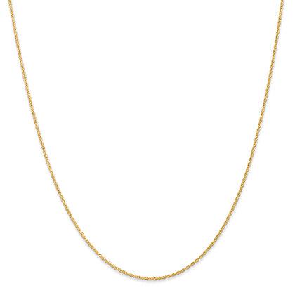 QG 14k Yellow gold Baby Rope Chain