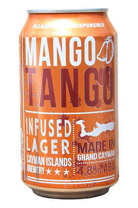 Mango Tango Flavoured Lager 335ml Cans in a 24 Case