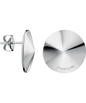 CALVIN KLEIN Spinner Stainless Steel Earrings