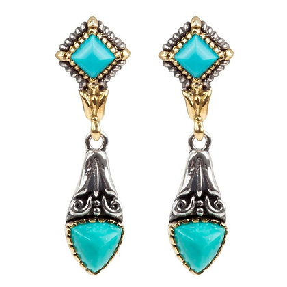 Konstantino Turquoise Earrings