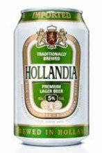 Hollandia 355ml Cans in a 24 Pack