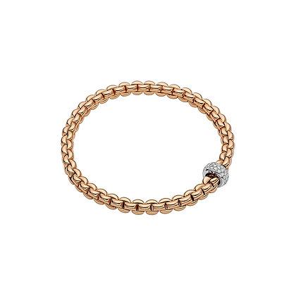 FOPE Eka Flex'it bracelet with diamond PAVE