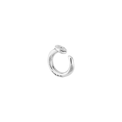UNOde50 NAIL RING SILVER