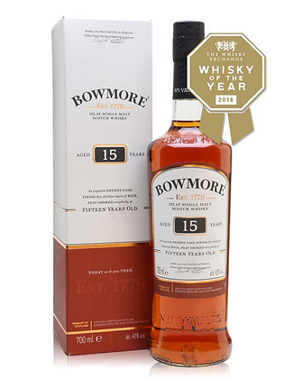 Bowmore Single Malt 15yr 1L