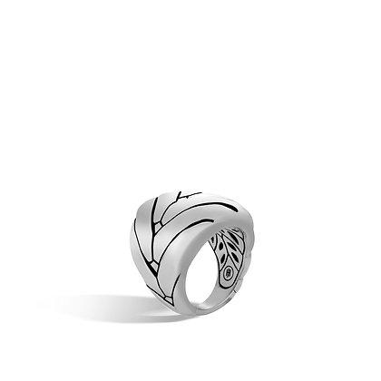 JOHN HARDY Women'S Modern Chain Silver Large Ring Sz7