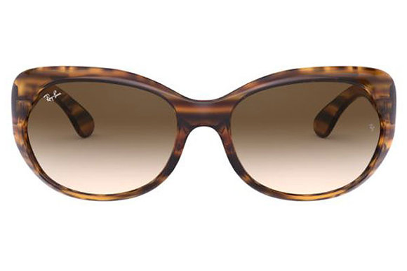 RAYBAN RB 4325 in stripped Red Havana