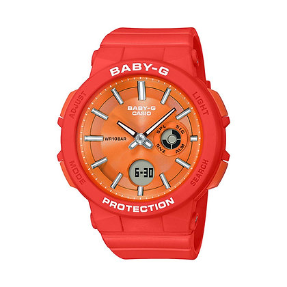 CASIO BABY-G NEON ILLUMINATOR ORANGE