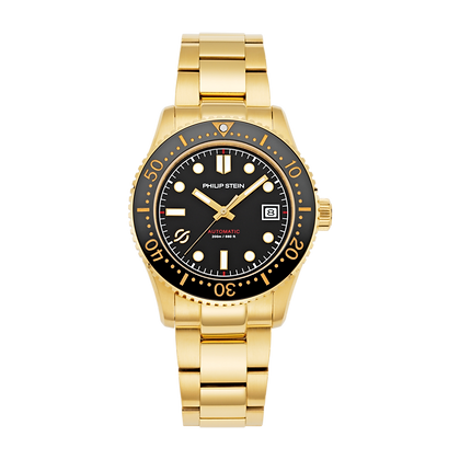 PHILIP STEIN Automatic-41mm-Black Dial Ss G