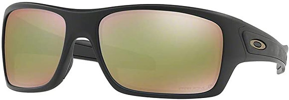 OAKLEY TURBINE MATTE BLACK/ PRIZM FRESH WATER POLARIZED SUNGLASSES