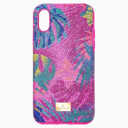 SWAROVSKI Tropical Smartphone Case with Bumper, iPhone X/XS