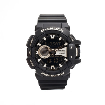 CASIO G-SHOCK Analog-Digital Gold Dial Men's Watch