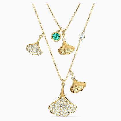 SWAROVSKI Stunning Ginko Layered  Necklace