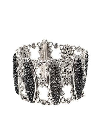 Konstantino  Black Spinel Bracelet