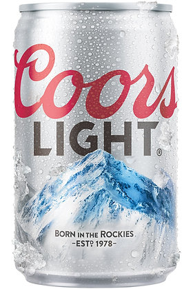 Coors Light 355ml Cans in a 24 Pack