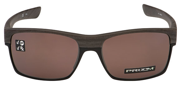 OAKLEY TWOFACE WOODGRAIN/PRIZM DAILY POLARIZED SUNGLASSES