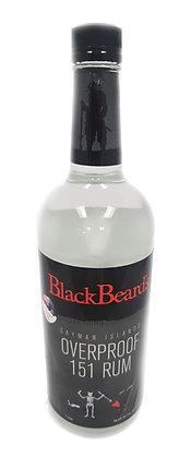 Blackbeard's Oven Proof Rum 1L