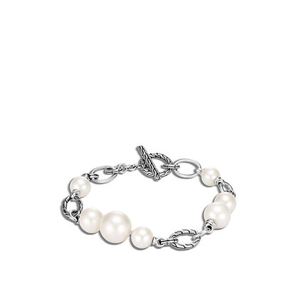 JOHN HARDY Classic Chain Bracelet Bracelet, Freshwater Pearl M