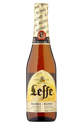 Leffe Blonde 330ml Bottles in a 6 Pack